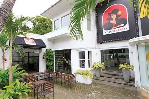 coco veranda caf 233 s in colombo time out sri lanka