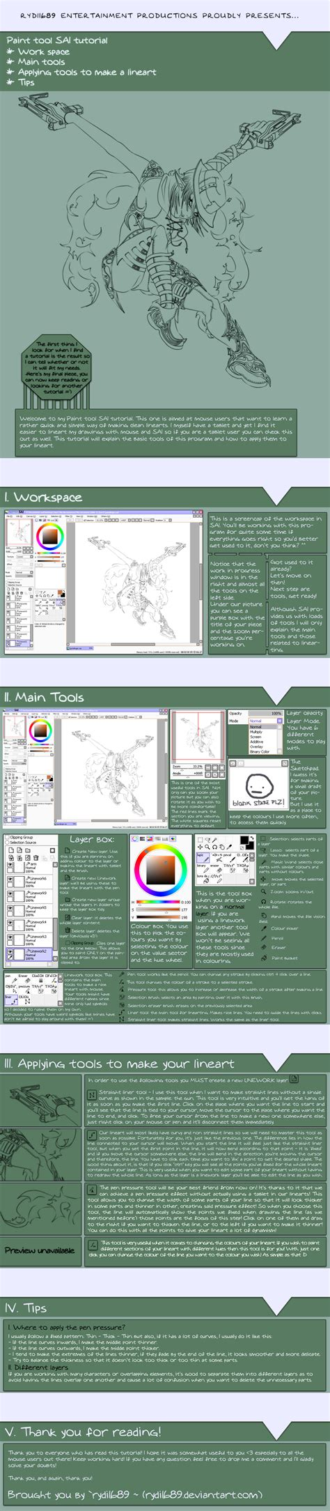 paint tool sai tutorial using mouse paint tool sai tutorial by rydi1689 on deviantart