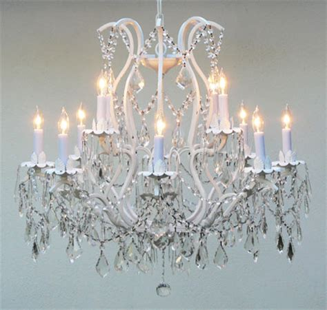 White And Chandeliers J10 White 26014 12 Gallery Wrought With Wrought