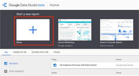 How To Use Google Data Studio To Report On Facebook Caigns Social Media Examiner Data Studio Social Media Template