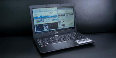 Laptop Acer E5 553g review acer aspire e5 553g laptop pertama dengan prosesor baru amd