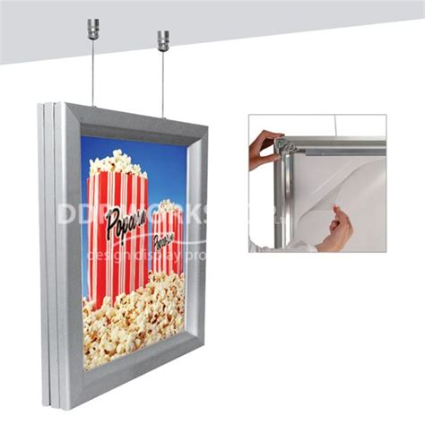 Ceiling Hanging Lightbox Double Sided Light Boxes