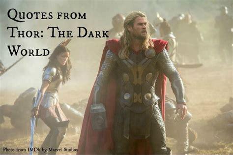 thor film quotes thor the dark world quotes quotesgram