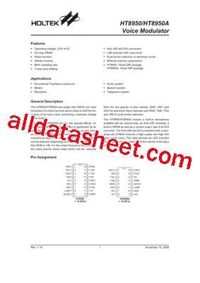 transistor ht china ht8950 datasheet pdf holtek semiconductor inc