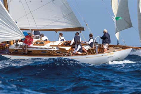 german frers   classic restored yacht classic boat