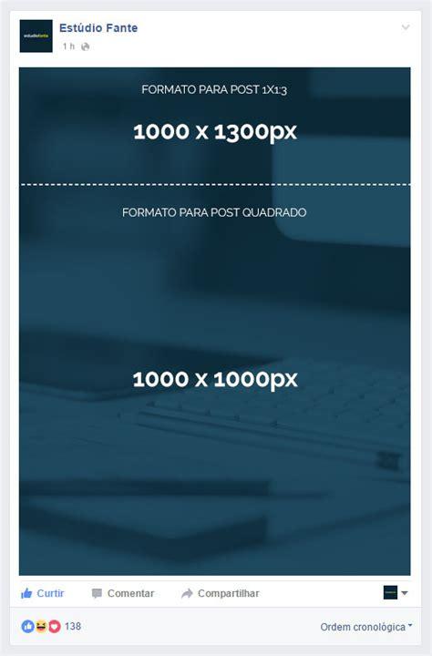 tamanho layout facebook medidas e formatos para imagens no facebook 2017 dmd7