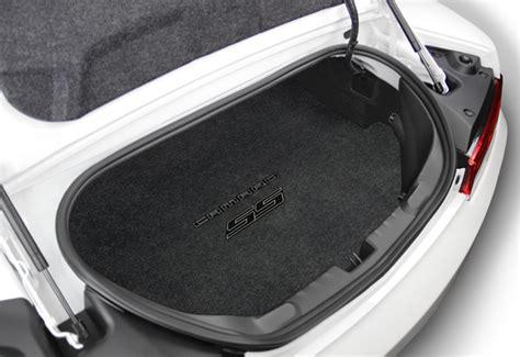 2010 2015 camaro floor mats 2010 2015 camaro logo trunk mat chevymall