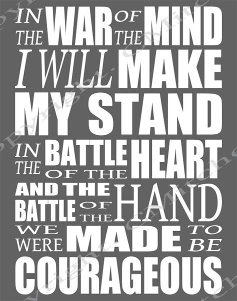 printable lyrics to just be held by casting crowns courageous lyrics printable poster inspirational quotes