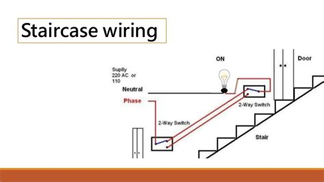 circuit diagram of staircase wiring wiring diagram with