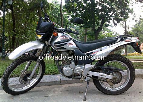 rent motocross bike uk honda sl 223cc rental in hanoi offroad vietnam dirt bike