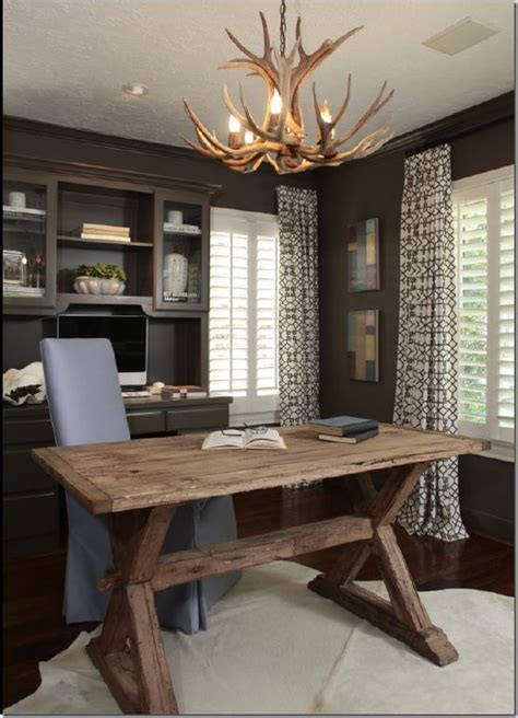 25 best ideas about rustic office on rustic office decor rustic home offices and