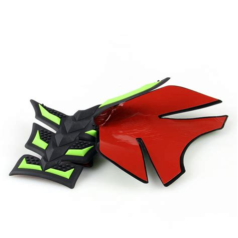 Tank Pad Set Er6n Tank Pad Side Pad 3d side tank pad protector gas motorcycle for kawasaki versys 300 250r gn ebay