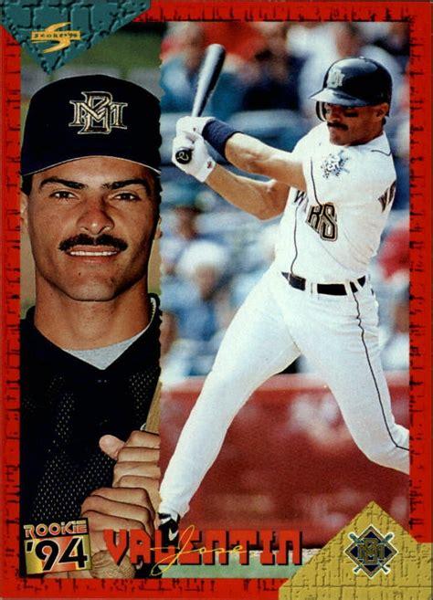 jose valentin 1994 score rookie traded rt101 jose valentin