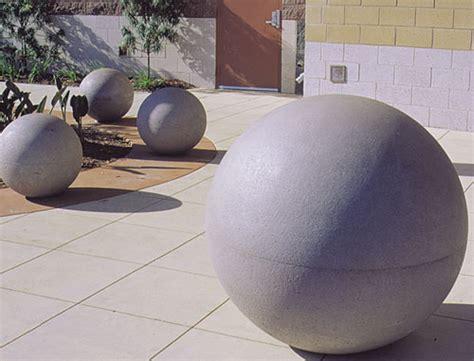 concrete landscape spheres hemispheres outdoor concrete spheres hemispheres phoenix
