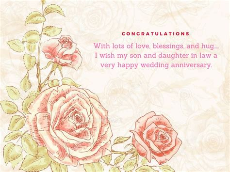 1st wedding anniversary wishes for son and daughter in law anniversary wishes for son and daughter in law happy wishes