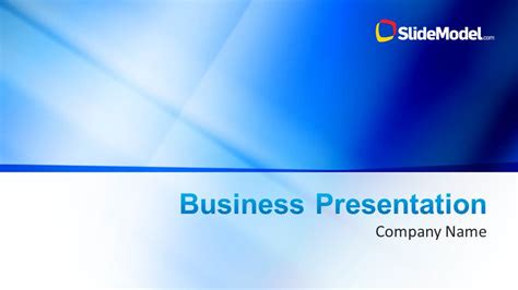 business profile template ppt blue company profile business powerpoint template slidemodel
