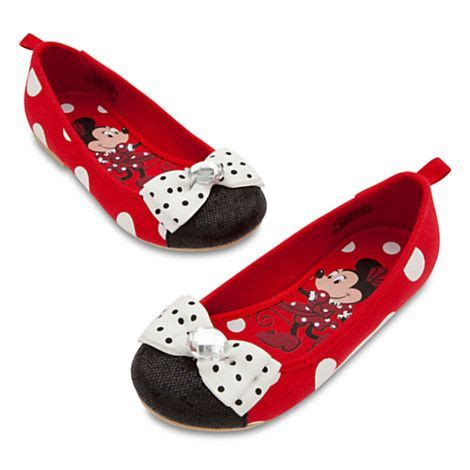 minnie mouse flat shoes lillys 2nd bday