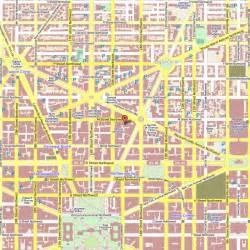 Washington City Map by Washington Map By City