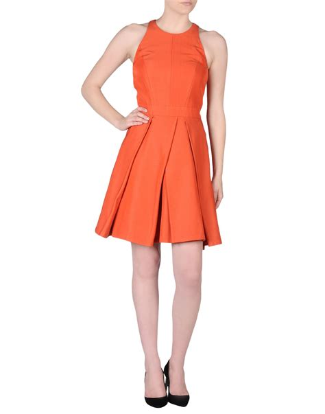 Dress Raline mcq dress in orange lyst