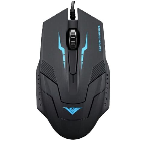 Mouse Rajfoo I5 rajfoo i5 optical wired usb gaming mouse 1600 dpi black