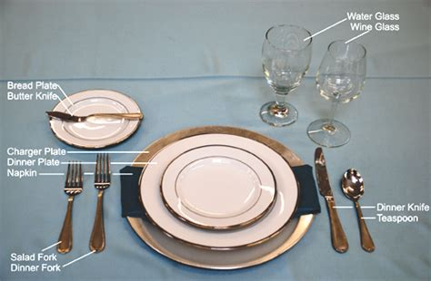 Setting Table by Table Settings