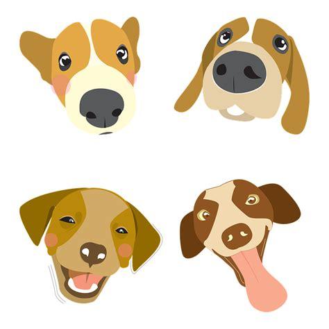 dog illustration pet big head  image  pixabay
