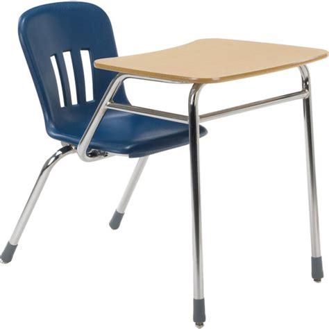 School Chair Desk Combo by Metaphor Series Combo School Desk W Laminate Top Virco