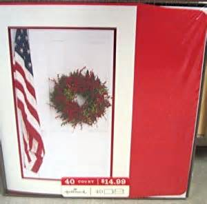 hallmark boxed cards px 3661 american flag wreath health personal care