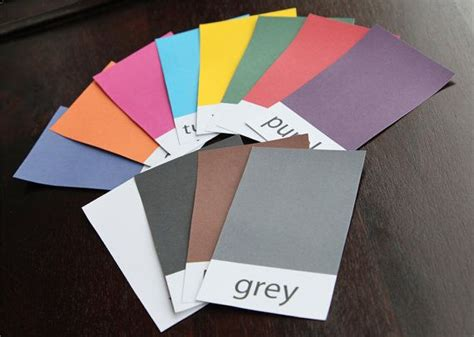 make flash cards 25 best ideas about color flashcards on flash