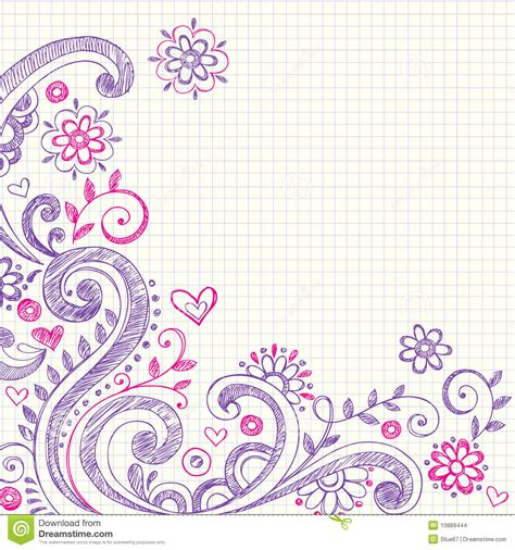 doodle on paper background notebook search backgrounds
