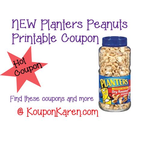 Planter Peanuts Coupons by Printable Coupons Gerber Graduates Raisinets Dole