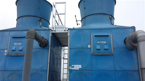 Thermometer Merk Gea used gea polacel cooling tower 253 tons comron international