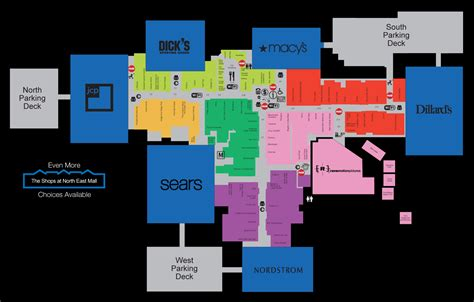 Layout Of Northeast Mall | layout of north east mall in hurst tx reminiscing