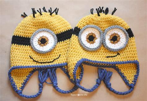 minion crochet bobs and the minions on pinterest chapeau minion au crochet julielavie