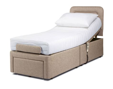 Sherborne Dorchester Small Single Adjustable Bed At Relax Bunk Beds With Mattress Included