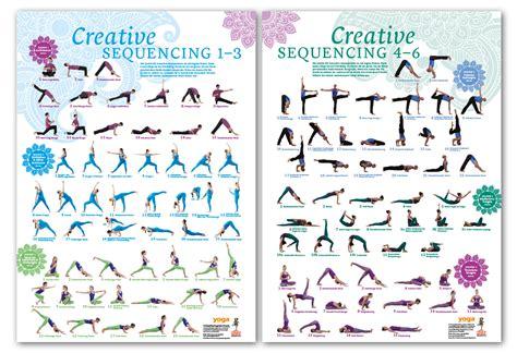 Yoga Plakat Kostenlos by Creative Sequencing 1 6 Poster Set Von Yoga Aktuell Im