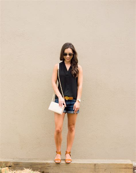 attire for women mid 30s paige denim shorts how to wear denim shorts in your late