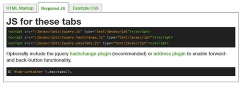 javascript tutorial tabs 15 best free css jquery tabs plugin and tutorials
