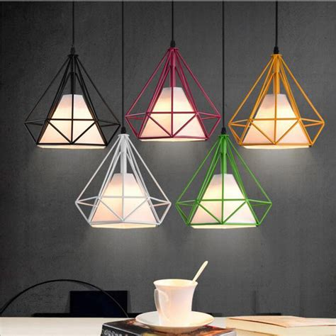 colorful pendant lights aliexpress buy lukloy pendant lights modern