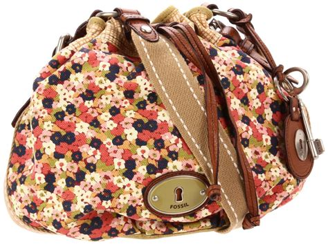 Fossil Tote Floral discounted fossil maddox floral drawstring tote