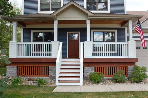 Homes With Front Porches Front Porch Reveal Bobbleheadbaby