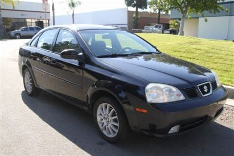 2004 Suzuki Forenza Lx Purchase Used 2004 Suzuki Forenza Lx Sedan Automatic 4
