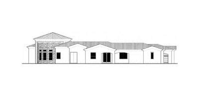 courtyard house plan with casita 16313md architectural courtyard plan with guest casita 16312md architectural