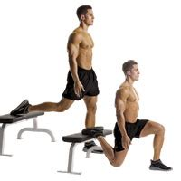 one legged squat with bench couplefit tutorial bodyweight squats and bulgarian