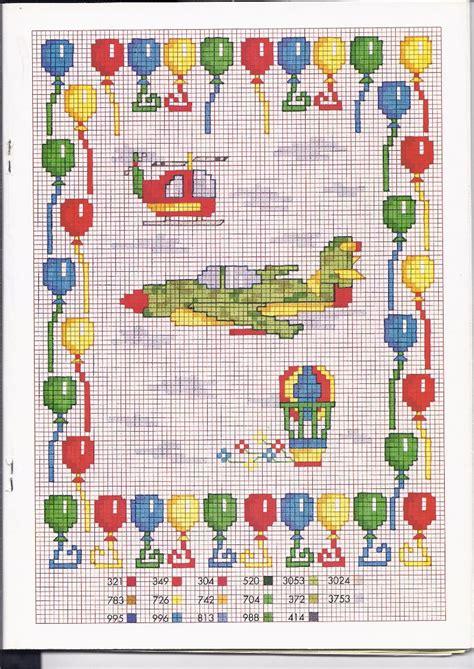 lettere punto croce bambini punto croce bambini macchinine schemi punto croce