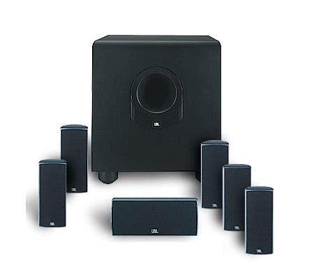 jbl scssi  piece home theater speaker system qvccom