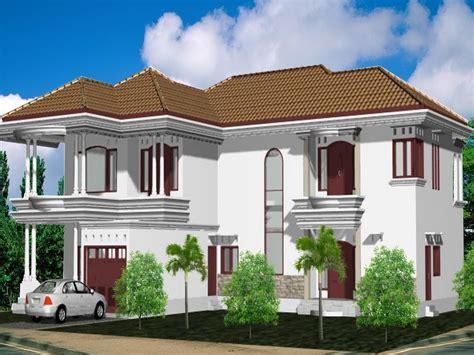 desain rumah mewah 2 lantai klasik putih contoh rumah minimalis