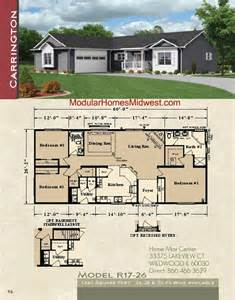 Modular Ranch House Plans by Modular Homes Ranch Floor Plans Rochester Modular Homes