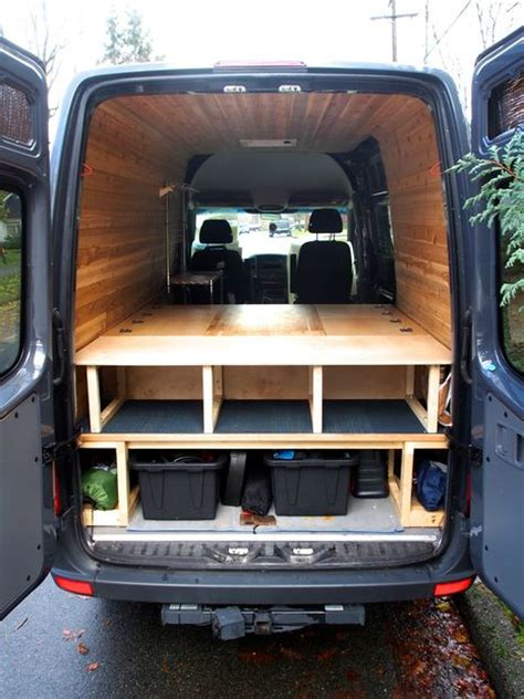 van bed bed table and benches for cer van all in one