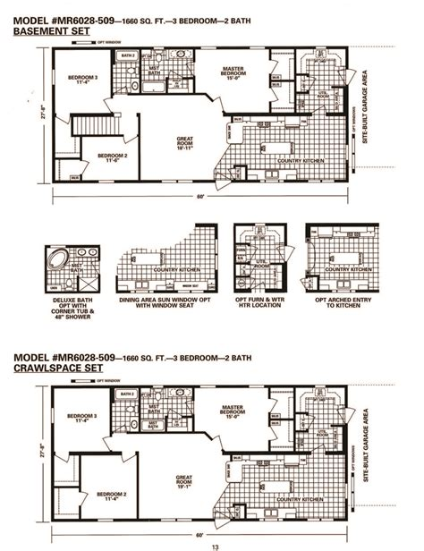 schult floor plans schult timberland 6028 509 excelsior homes west inc
